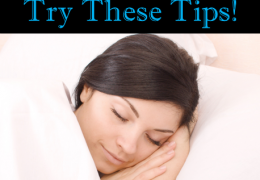 Having Trouble Sleeping? Try These Tips!