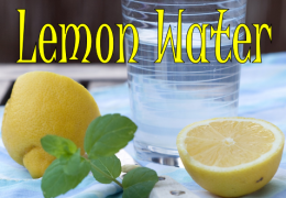 Benefits of Lemon Water: Get Yours Today